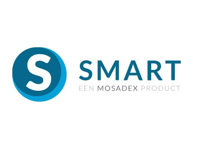 Logo Smart simplified minimal pharmacy logo flat smart