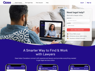 A Lawyer Website