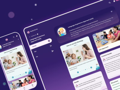 K-12 Education App Dashboard