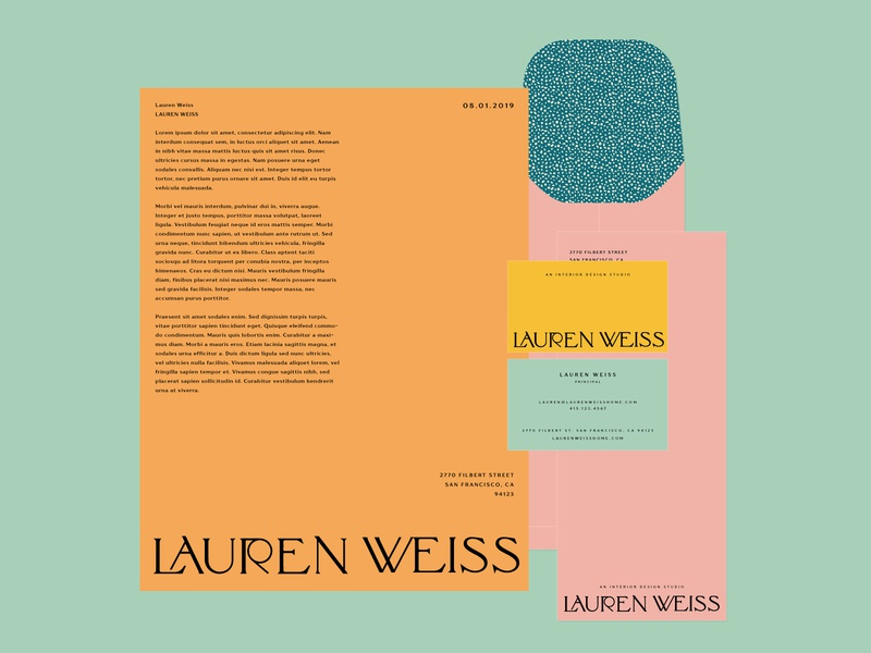 Lauren Weiss Collateral Concept