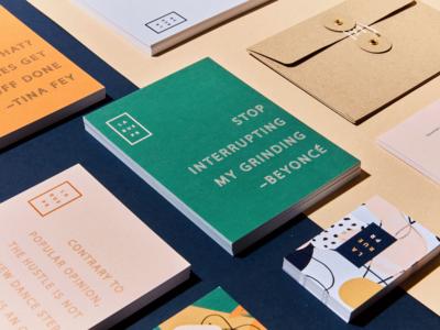 LA RUE PR Brand Identity Redesign
