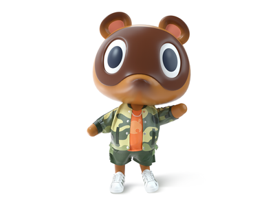 Lovely Timmy ui character design 3d 设计 插图 c4d