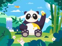 Happy food panda