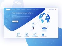 Travel web page - 01