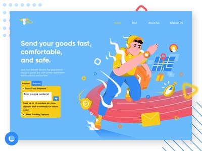 Zeuz Delivery Illustration Header