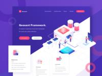 Geosant - CSS Framework Landing Page