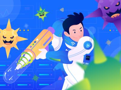 Illustration exploration for internet protection