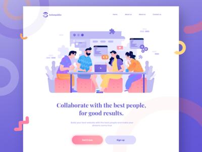Kelompokku - Work Collaboration website