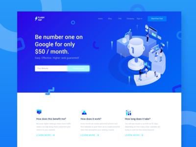 Flashtop - SEO Header Website