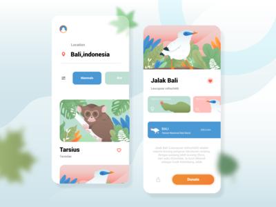Animal Conservation App