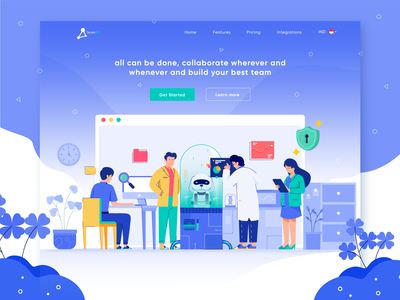 TeamUp - collaborate website exploration