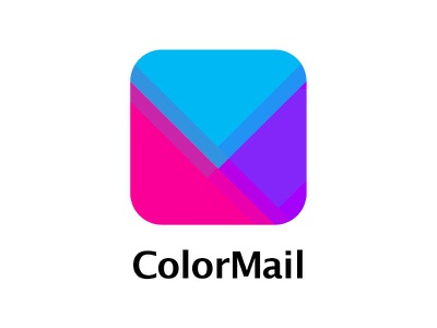 ColorMail Logo envelop color mail logo