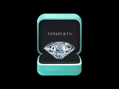 TIFFANY & CO. tiffany,ps co,icon,crystal,box