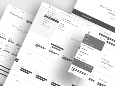 Grant Thornton - Wireframes