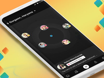 Make request from nearby users