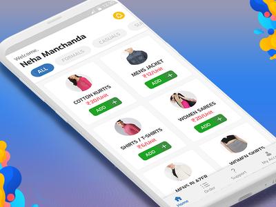 Clothes Iron App Concept