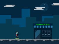 Zombie Skate Shop Concept