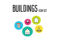 Building Icon Set I