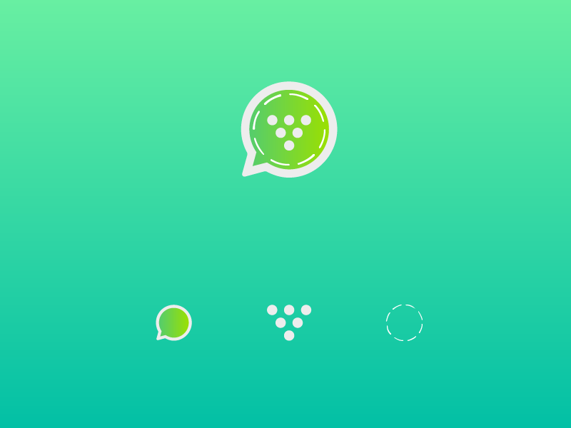 Whatsapp Status Downloader App Icon by Suresh on Dribbble