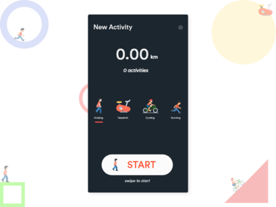 Fitness - New Activity App Concept