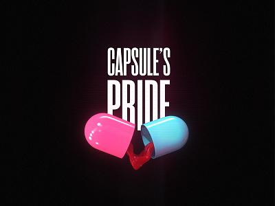 Capsule's Pride blood neon pride capsule anime punk cyber bosozoku akira