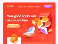 Listen to books /web lovely illustration web book
