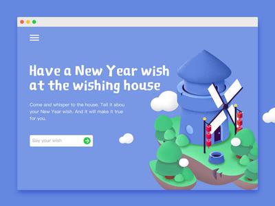Wishing house