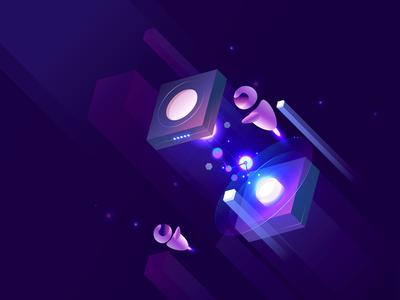 Electronic Time-Space Transit
