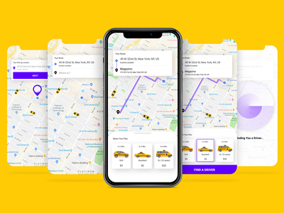 Taxi Booking App 🚖