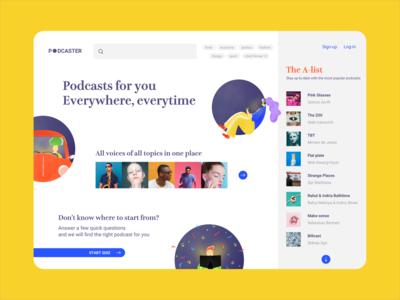 Podcasts Web Platform