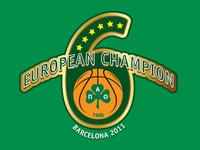 6 times European Champions