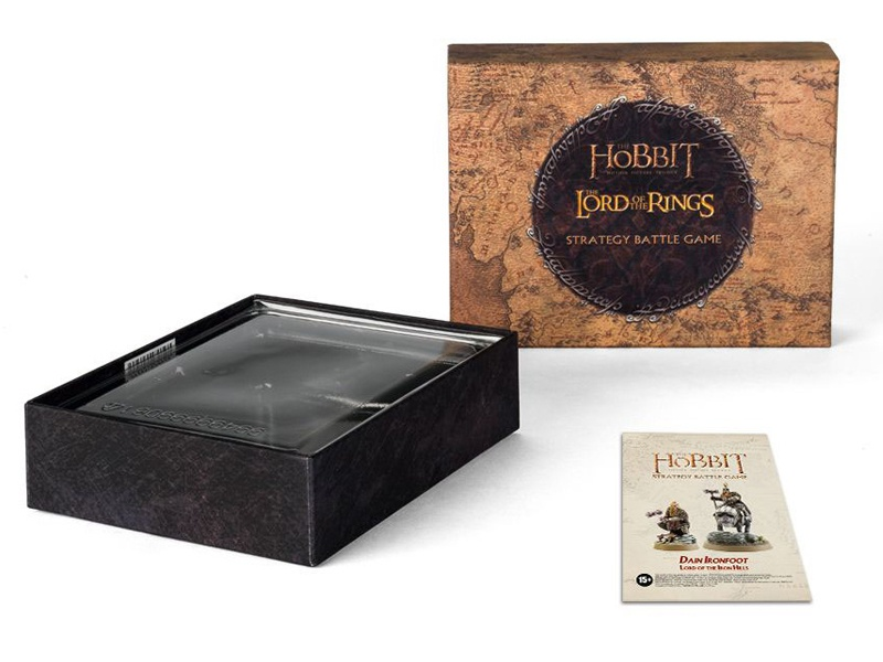 The Hobbit Collectors Box lord of the rings box miniatures forgeworld workshop games design graphic packaging hobbit