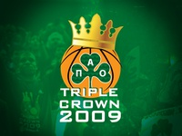 Panathinaikos B.C. - Triple Crown 2009 main logo