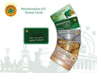 Panathinaikos B.C. - Season cards 2010 - 2011