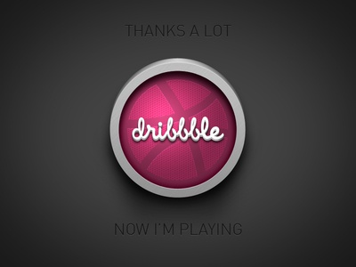 Thanks Dribbble
