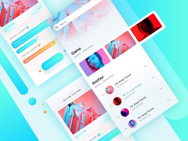 live app by Arise | Dribbble | Dribbble