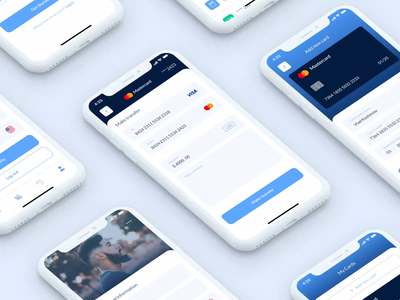 Quantum Wallet (Figma source FREE) credit cards transactions free application mobile app figma wallet product cards bank app