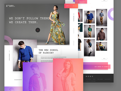 Fashion E-Commerce Home Page fashion homepage fashion web page fashion e-commerce websites butique fashion template e-commerce fashion home page fashion home page landing page