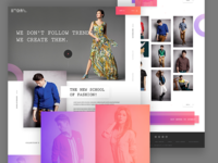 Fashion E-Commerce Home Page