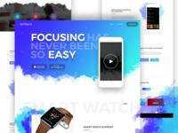 App Landing Page Design V4