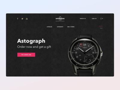 Astronde watch key visual