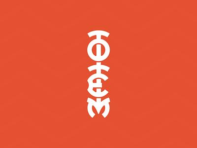 Totem identity design graphic branding logotype totem