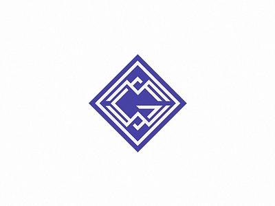 Megawatt group monogram identity vector logo branding design monogram