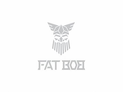 Fat Bob knives identity logo vector logotype branding