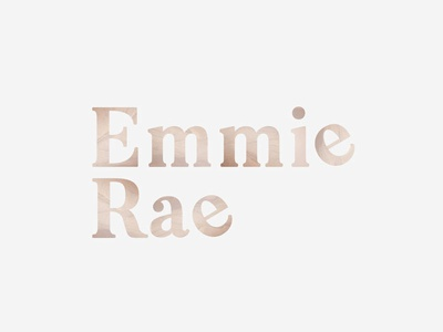 Logo for Emmie Rae