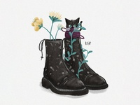 Cat In Black Boots