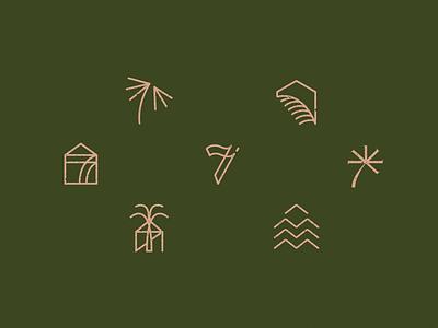 Seventh House – Unused Concepts vector logo illustrator typography mark branding illustration design graphic design