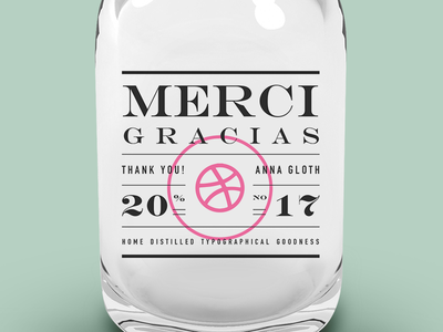 First shot of Dribbble  invitation packaging graphic design label design typography debut
