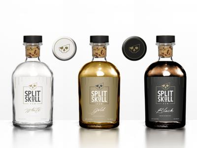 Split Skull Rum Concept