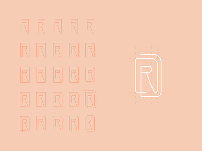 Personal Branding — Monogram Concept concept personal monogram mark illustration logo design logo branding graphic design design